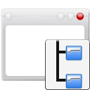 File, Folder, System, Window Icon