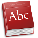 Accessories, Dictionary Icon