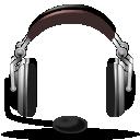 Audio, Emblem, Headphones, Music, Sound Icon