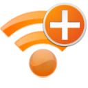 Add, Plus, Radio, Wifi Icon