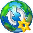Star, Upload, World Icon