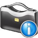 Briefcase, Info Icon