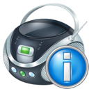 Boombox, Info Icon