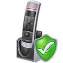Check, Microphone Icon