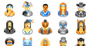 55 User Icons Part 1 Icons