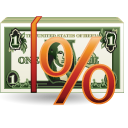 Cash, Money, Percentage, Rent Icon