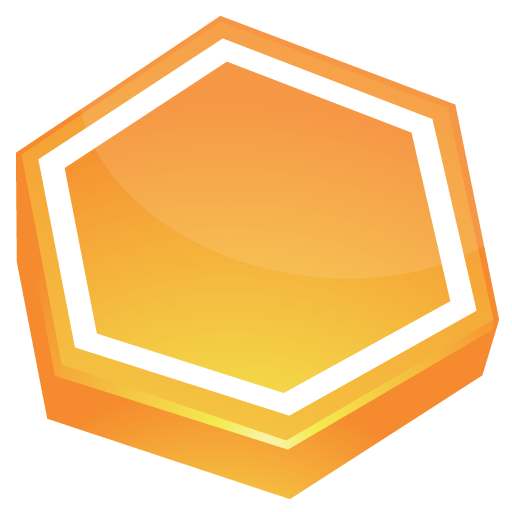 Area, Orange Icon