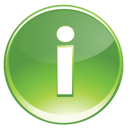 Green, Information Icon
