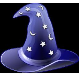 Hat, Magic, Wizard Icon