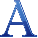 a, Letter Icon