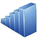 Blue, Graph Icon