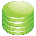 Database, Green Icon