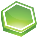 Area, Green Icon