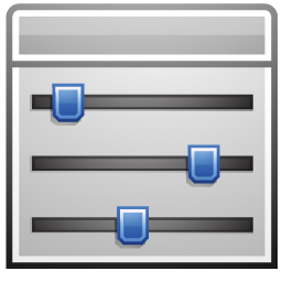 Program, Sliders Icon