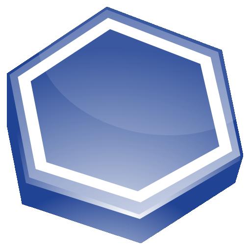 Area, Blue Icon
