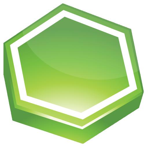 Area, Green Icon