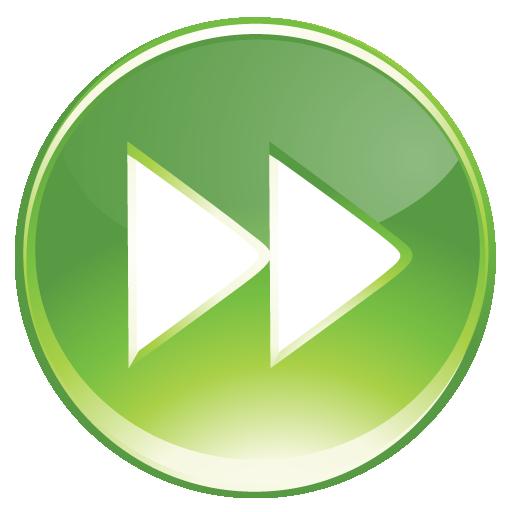 Forward, Green Icon