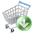 Shopcartdown Icon