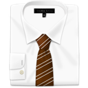 Brown, Tie Icon