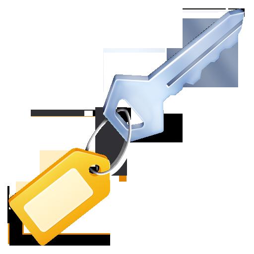 Keys, Security Icon