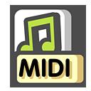 Midi, Sequence Icon