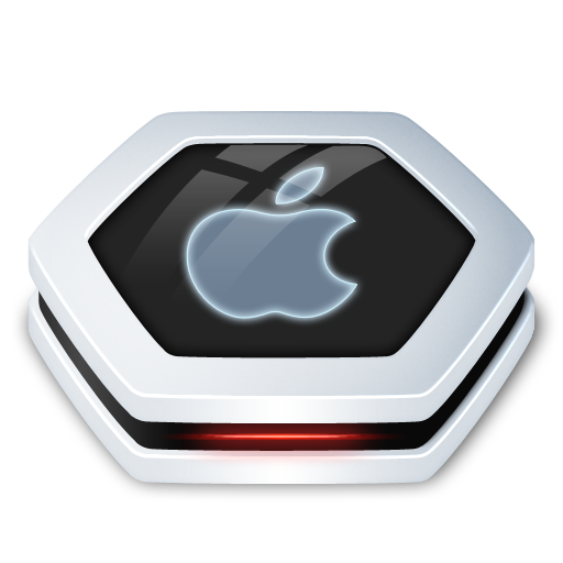 Apple, Drive Icon