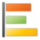 Green, Orange, Poll, Yellow Icon