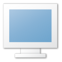 Blue, Monitor Icon