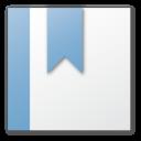 Blue, Bookmark Icon