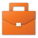 Red, Suitcase Icon