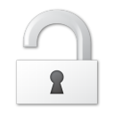 Security, Unlock Icon