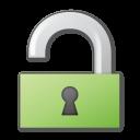 Green, Lock, Unlock Icon