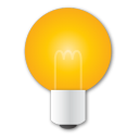 Bulb, Idea, Light, Yellow Icon