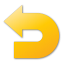 Undo, Yellow Icon