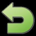 Green, Undo Icon