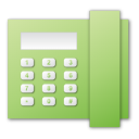 Green, Telephone Icon