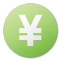 Currency, Green, Yuan Icon
