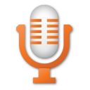 Microphone, Red Icon