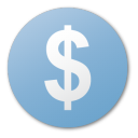Blue, Cash, Currency, Dollar, Money, Usd Icon