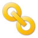 Hyperlink, Yellow Icon