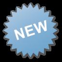 Blue, Label, New Icon