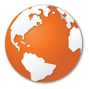 Earth, Globe, Internet, Orange, World Icon