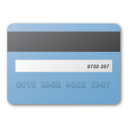 Blue, Card, Credit Icon