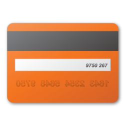 Card, Credit, Red Icon