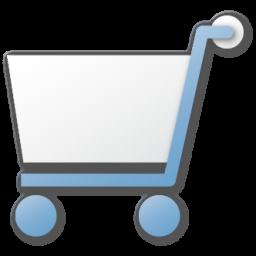 Blue, Cart, Shopping Icon