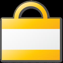 Bag, Shopping, Yellow Icon