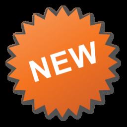 Label, New, Orange, Sticker Icon