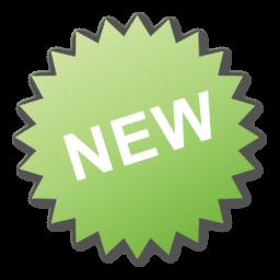 Green, Label, New Icon