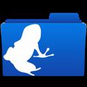 Folder, Frog, Vuze Icon