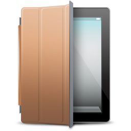 Black, Brown, Cover, Ipad Icon